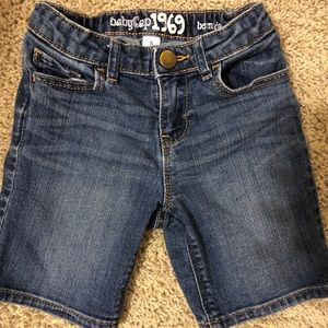 Baby Gap Bermuda shorts for girls
